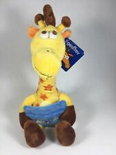 "Toys R Us Geoffrey Giraffe 13"" Collectible Plush Embroidered Gift Card Holder"