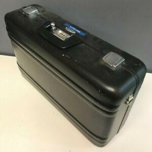 """Zero Halliburton Aluminum Case 21"""" X 13"""" X 7"""" - Used"""