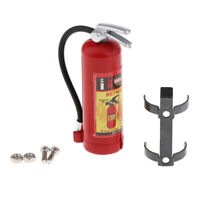 MagiDeal 1/10 Dollhouse Miniature Fire Extinguisher Kitchen Fireplace Red