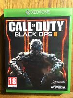 Call of Duty Black Ops 3 (unsealed) - Xbox One UK Release New!