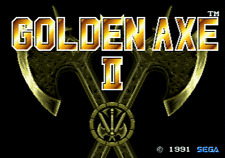 Golden Axe II - Sega Genesis Game Complete