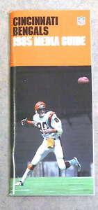 CINCINNATI BENGALS NFL FOOTBALL MEDIA GUIDE - 1985 - MINT