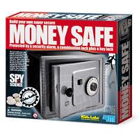 Great Gizmos New Kidz Labs Build Your Own Money Safe Kids Fun Spy Science Gift