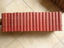 """20 volumes """"romans et aventures célèbres"""" vers 1880 ill. - Frederic SOULIE, etc."""