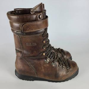 Cabela's Mens Skywalk Hunting Boots Brown Waterproof Hook & Loop Lace Up 10.5