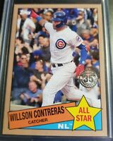 Willson Contreras 2020 Topps Series 2 Insert '85' All Star 35th CUBS #/50 SP