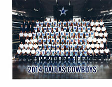 2014 DALLAS COWBOYS  8X10 TEAM PHOTO  FOOTBALL TEXAS NFL AFL USA