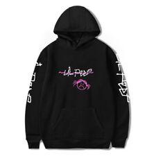 Jumper Hoodies Unisex Rapper Hoodie Lil Peep LOVE Sweatshirt Sad Face Pullover