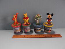 Disney Dough Collectible Stamper Figures Mickey, Tigger, Buzz & Pooh