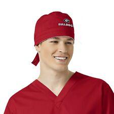 Georgia Bulldogs Red Scrub Cap