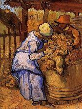 Vincent Van Gogh OVINI TOSATORE dopo miglio 1889 Old painting stampa 2919omlv
