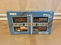 IMEX HO Scale Die Cast Classic Trucking Burlington Route #870132 1:87 Scale