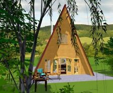 !!Bezahlbares Wohnhaus!!! Holzhaus Blockhaus Ferienhaus