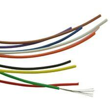 7/0.2mm Single Core Hook Up Wire Orange (10 Metres)