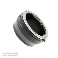 Pro Leica R to Fuji X Mount Lens Adapter. Adaptor for X-E1, X-Pro1, X-E2 etc