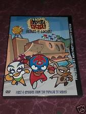 "CARTOON NETWORK & WB MUCHA LUCHA! ""HEART OF LUCHA""ENG,SPAN,PORTUG RETD DVD"