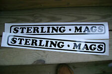 "STERLING MAGS DECALS - SET OF 2 - 18"" X 2"""