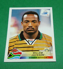 N°178 JACKSON SOUTH AFRICA AFS PANINI FOOTBALL FRANCE 98 1998 COUPE MONDE WM