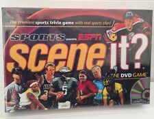 Sports Scene It? Ultimate Sports Trivia DVD Game powered By ESPN, New In Plastic