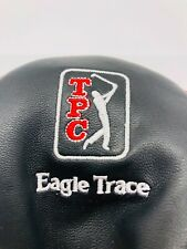 Tpc Eagle Trace 3 Wood Fairway Black Red Leather Golf Club Headcover Member Mint