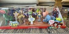 DISNEY TOY STORY DELUXE ACTION FIGURE 14 PIECE SET RARE---Brand New In Box