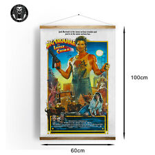 Huge 60cm x 100cm Big Trouble In Little China Medium weight Canvas Movie Poster