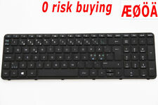 For HP 250 255 G3 749658-DH1 Laptop Keyboard Nordic Swedish Danish Norsk Finnish