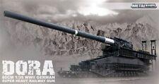 Ferrocarril alemán de la segunda guerra mundial se disparan Arte Dora Pistola Kit plástico modelo escala 1:35th 1200mm largo
