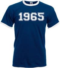 55th Birthday Varsity College Year 1965 Unisex T-Shirt Dad Father Grandad Gift