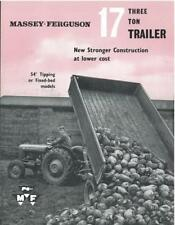 FERGUSON TRAILER BROCHURE  .............................  ORIGINAL SALES LEAFLET