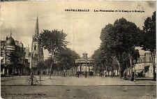 CPA Chatellerault - Les Promenades et le Kiosque a Musique (365580)