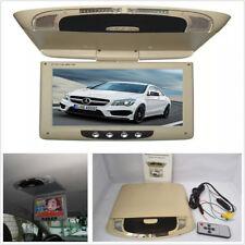 "9"" Car Roof Mount LCD Flip Down Screen Overhead Multimedia Video Monitor Display"