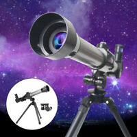 40X HD Nachtsicht-Astronomie-Teleskop Kids Monocular+Tripod 2 Okular
