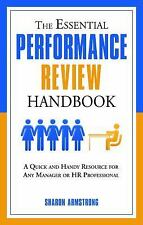 The Essential Performance Review Handbook by Sharon Armstrong Paperback Book