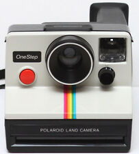 Polaroid OneStep Rainbow SX-70 Film Camera Made in USA 1970s Fully Operational