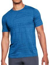 Under Armour Threadborne Elite Short Sleeve Mens Training Top - Blue