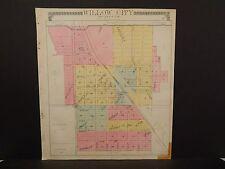 North Dakota Bottineau County Map Willow City   1910 Q6#40