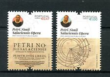 Portugal 2016 neuf sans charnière petri nonii salaciensis opera 2v set musique timbres