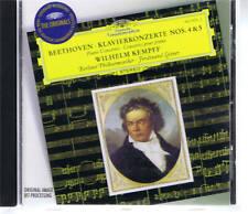 DGG WILHELM KEMPFF - BEETHOVEN PIANO CONCERTOS 4 & 5