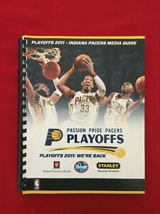 2011 NBA Indiana Pacers playoffs media guide / George debut / Granger / Hibbert