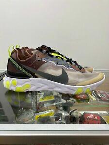 Nike React Element 87 Desert Sand AQ1090-002 size US 10.5
