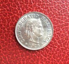 Suisse - Magnifique monnaie de 5 Rappen 1928
