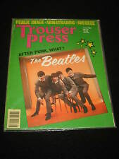Magazine 1980  Trouser Press The Beatles, Squeeze, Public Image, Armatrading VG