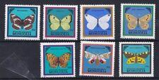 Mongolia 1986 Farfalle 1428-34 MHN