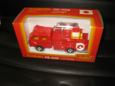 1/58 TOMICA DANDY NISSAN CHEMICAL  FIRE ENGINE TRUCK   MADE IN JAPAN RARE DE-005
