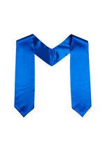 Azul Satén Coro Banda - Calidad Honor Estola - Iglesia Coral Bata Accesorio