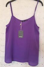 Golddigga Woven Cami Bright Purple Ld52 Bright Purple 14  L