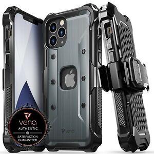 Vena [vArmor] Shockproof Heavy Duty Holster Belt Clip Case for iPhone 12 Pro Max