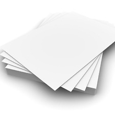 25 Sheets A4 300gsm White Card - Premium Thick Printing Paper suitable for All