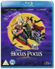 HOCUS POCUS Disney Blu Ray New Gift Idea Classic Movie Anniversary Edition